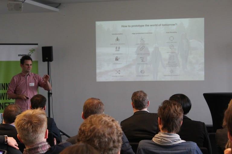"""Robert Jänisch trägt beim Event """"Best Practice Digitalisierung"""" vor"""