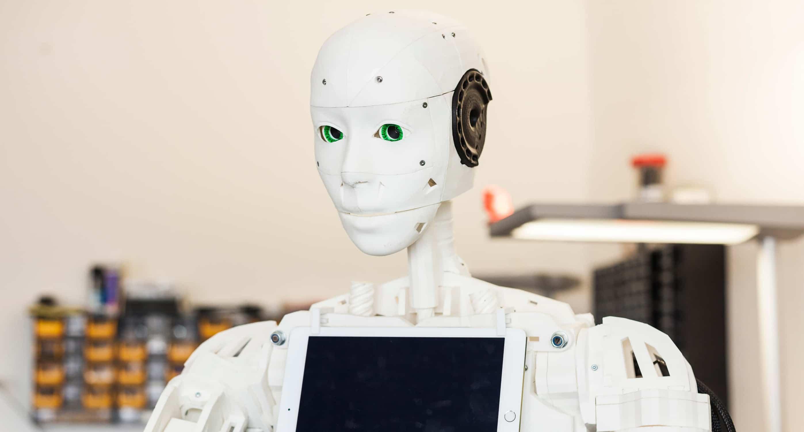 Roboter Bob im IOX LAB