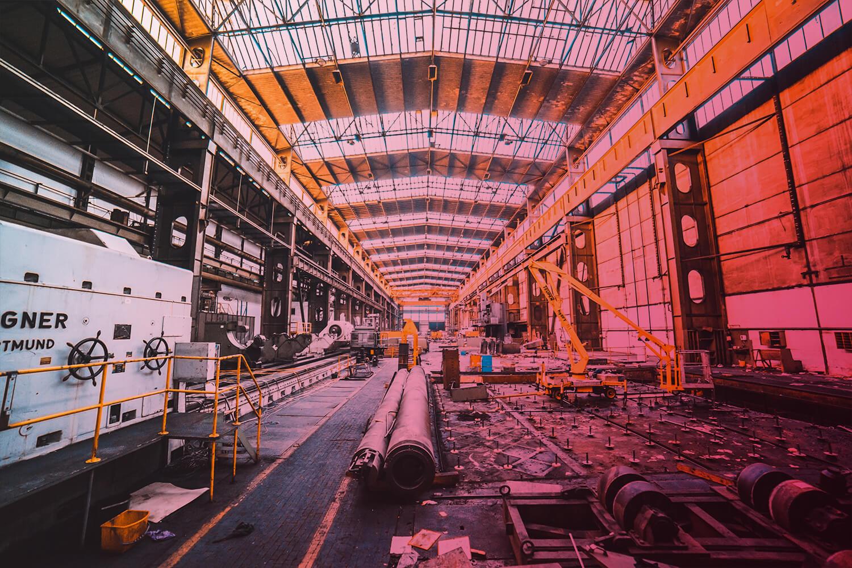 RFID: Industriehalle
