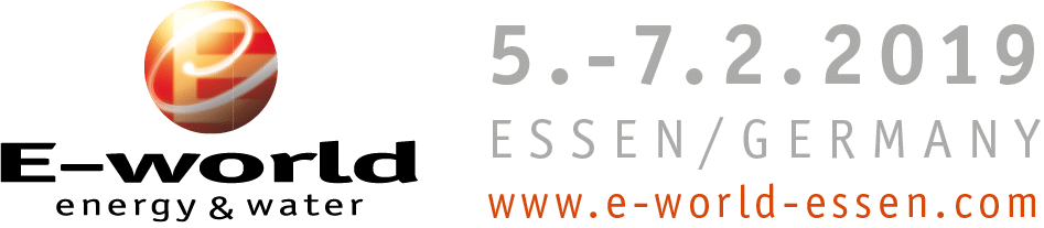 E-World 2019 Logo