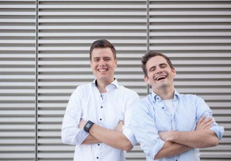 Andreas Bell und Robert Jänisch von IOX