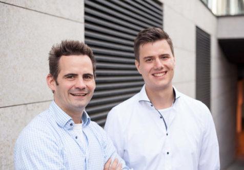 CEO Robert Jänisch und COO Andreas Bell von IOX