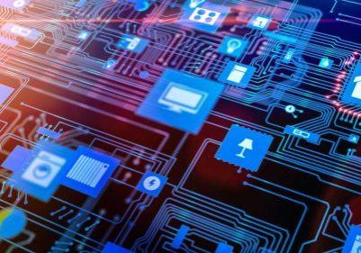 IoT Icos auf Platine