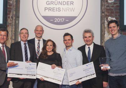 Gründerpreis NRW 2017 Verleihung